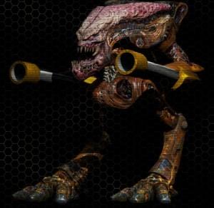 12. Biomechanoid, menší Firestarter