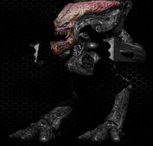 14. Biomechanoid, menší Commando