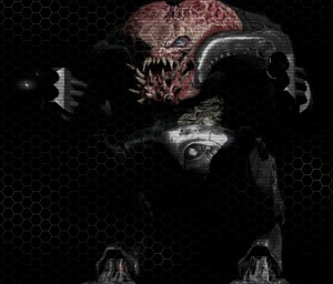 4. Biomechanoid, hlavní - útočná verze