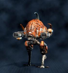 Biomechanoid, komando (2000)