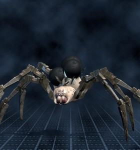Biomechanoid, pavouk, bombič (500)
