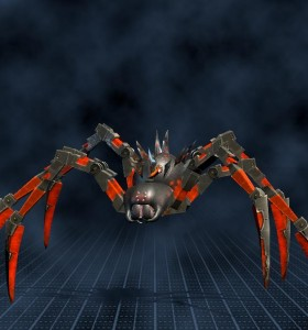 Biomechanoid, pavouk, velký (10 000)